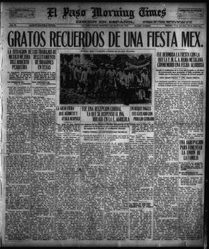 Primary view of object titled 'El Paso Morning Times (El Paso, Tex.), Vol. 38TH YEAR, Ed. 1, Tuesday, May 7, 1918'.