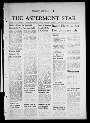 Primary view of object titled 'The Aspermont Star (Aspermont, Tex.), Vol. 70, No. 19, Ed. 1 Thursday, January 4, 1968'.
