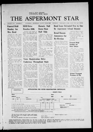 The Aspermont Star (Aspermont, Tex.), Vol. 70, No. 21, Ed. 1 Thursday, January 18, 1968