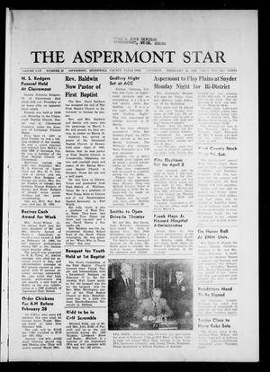The Aspermont Star (Aspermont, Tex.), Vol. 70, No. 26, Ed. 1 Thursday, February 22, 1968
