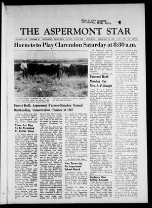 Primary view of object titled 'The Aspermont Star (Aspermont, Tex.), Vol. 70, No. 27, Ed. 1 Thursday, February 29, 1968'.