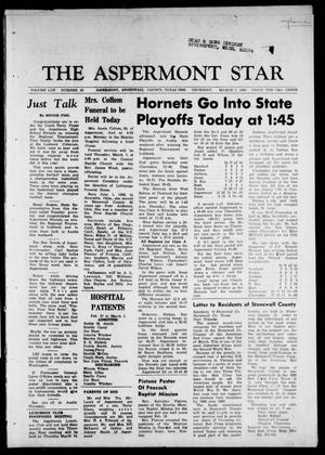 Primary view of object titled 'The Aspermont Star (Aspermont, Tex.), Vol. 70, No. 28, Ed. 1 Thursday, March 7, 1968'.