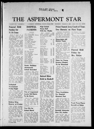 Primary view of object titled 'The Aspermont Star (Aspermont, Tex.), Vol. 70, No. 30, Ed. 1 Thursday, March 21, 1968'.