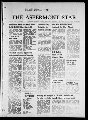 The Aspermont Star (Aspermont, Tex.), Vol. 70, No. 31, Ed. 1 Thursday, March 28, 1968