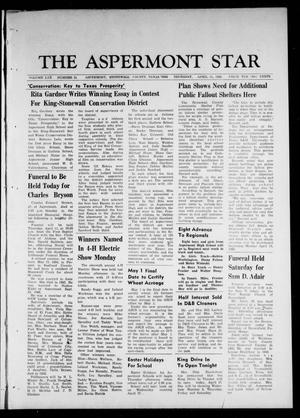 Primary view of object titled 'The Aspermont Star (Aspermont, Tex.), Vol. 70, No. 33, Ed. 1 Thursday, April 11, 1968'.