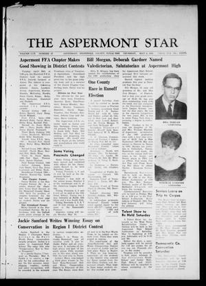 Primary view of object titled 'The Aspermont Star (Aspermont, Tex.), Vol. 70, No. 37, Ed. 1 Thursday, May 9, 1968'.