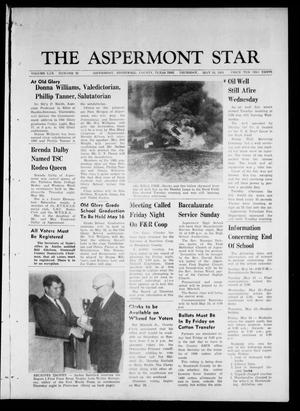 Primary view of object titled 'The Aspermont Star (Aspermont, Tex.), Vol. 70, No. 38, Ed. 1 Thursday, May 16, 1968'.