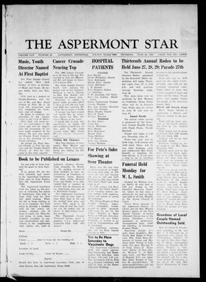 Primary view of object titled 'The Aspermont Star (Aspermont, Tex.), Vol. 70, No. 43, Ed. 1 Thursday, June 20, 1968'.