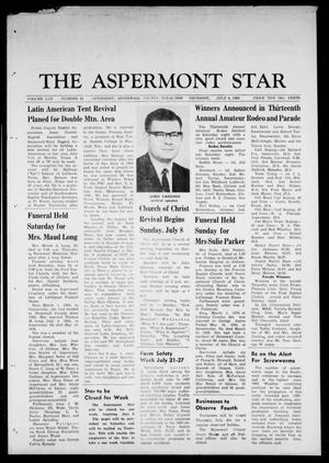 Primary view of object titled 'The Aspermont Star (Aspermont, Tex.), Vol. 70, No. 45, Ed. 1 Thursday, July 4, 1968'.