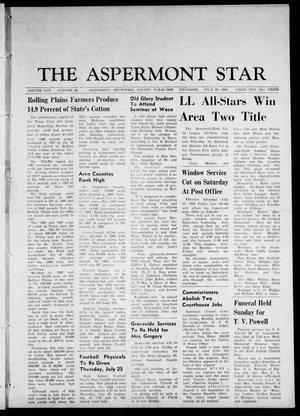 Primary view of object titled 'The Aspermont Star (Aspermont, Tex.), Vol. 70, No. 48, Ed. 1 Thursday, July 25, 1968'.