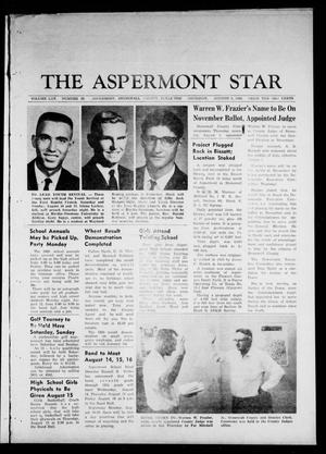 Primary view of object titled 'The Aspermont Star (Aspermont, Tex.), Vol. 70, No. 50, Ed. 1 Thursday, August 8, 1968'.