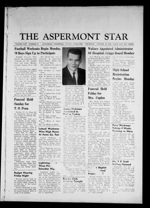 Primary view of object titled 'The Aspermont Star (Aspermont, Tex.), Vol. 70, No. 51, Ed. 1 Thursday, August 15, 1968'.