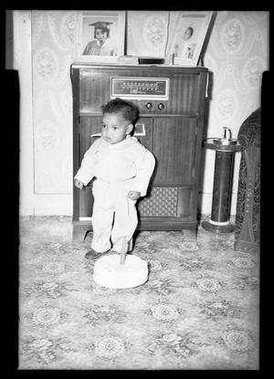 Primary view of object titled '[Photograph of a Young Child]'.