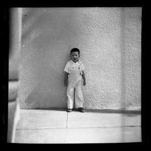 Primary view of object titled '[Photograph of a Young Boy]'.