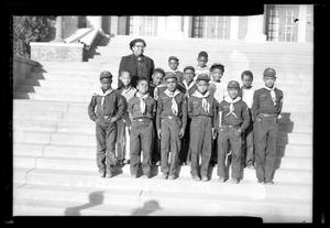 Primary view of object titled '[Portrait of a Group of Cub Scouts]'.