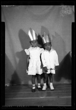 Primary view of object titled '[Photograph of Two Young Children]'.