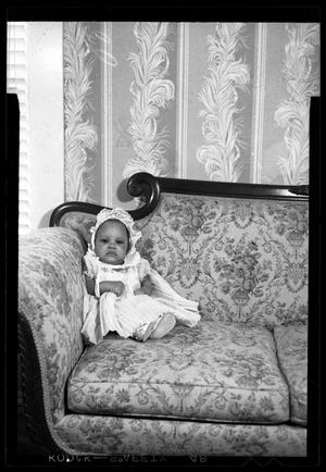 Primary view of object titled '[Photograph of a Infant Girl]'.