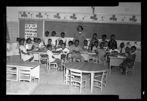 [Photograph of a Group of Students in a Classroom]