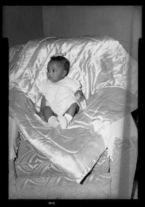 Primary view of object titled '[Photograph of an Infant Child]'.
