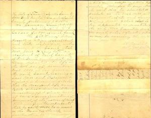 Primary view of object titled '[Probate petition of Clem Bassett]'.