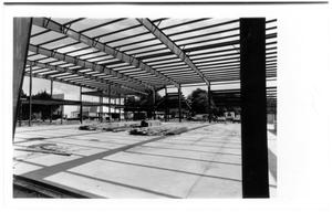 Primary view of object titled 'Woltman Activities Center under construction'.
