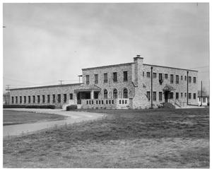 Primary view of object titled 'Texas Hall exterior'.