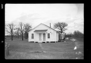 Primary view of object titled '[Photograph of a Building]'.
