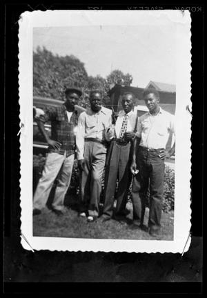 Primary view of object titled '[Photograph of a Group of Men]'.