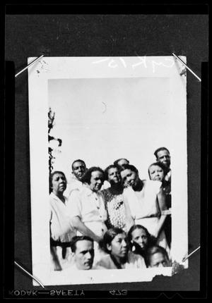 Primary view of object titled '[Photograph of a Group of People]'.