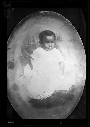 Primary view of object titled '[Photograph of a Painting of an Infant]'.