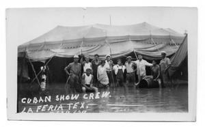 Primary view of object titled '[Carpe Cubana's Flooded Camp]'.