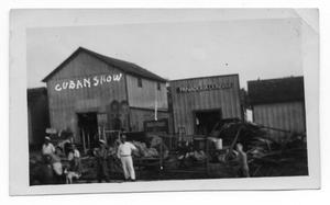 Primary view of object titled 'Cuban Show, Panaderia La India'.