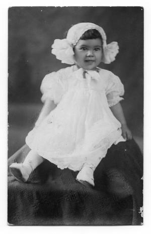 Primary view of object titled '[Portrait of Baby Celia]'.