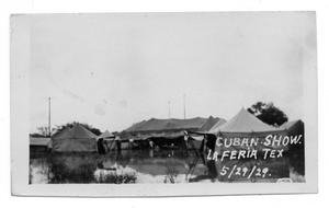 Primary view of object titled '[Cuban Show in La Feria]'.