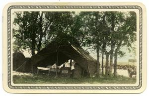Primary view of object titled '[Carpe Cubana Tent]'.