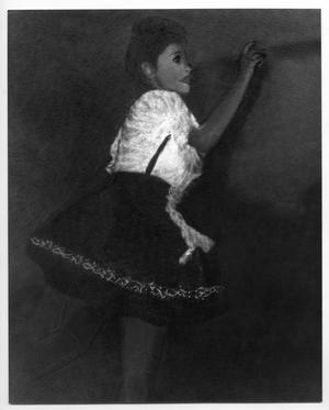 Primary view of object titled '[Portrait of a Dancer]'.