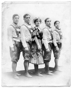 Primary view of object titled 'Abreu Family in Costume'.