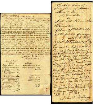[Probate execution of James Stuart]