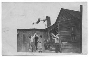 Primary view of object titled 'Abreu Troupe Practicing Stunts'.