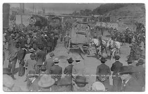 Primary view of object titled 'Ringling Brothers in Asheville, North Carolina'.