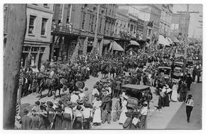 Primary view of object titled 'Ringling Brothers Parade In Asheville'.