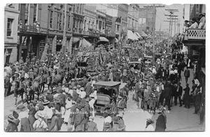 Primary view of object titled 'Ringling Brothers Downtown Parade'.
