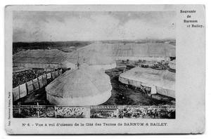 Primary view of object titled 'Barnum and Bailey French Postcard'.