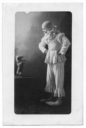 Clown and Dog