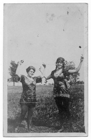 Primary view of object titled 'Two Women in Costume'.