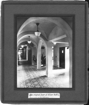 Primary view of object titled 'Entrance to Kilian Hall'.