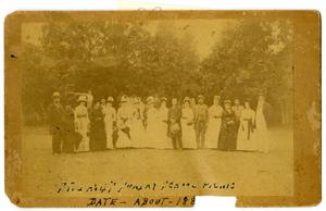 Primary view of object titled '[Sunday School Picnic]'.