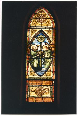 Primary view of object titled '[The Crown of Life Window]'.