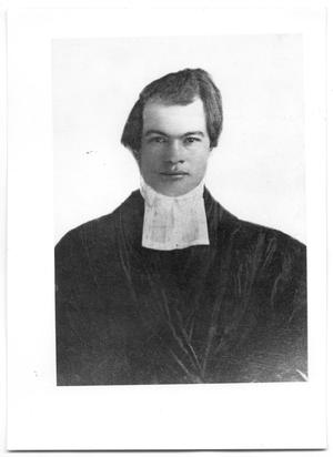 Primary view of object titled '[Portrait of Reverend Charles Gillette]'.