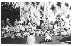 Primary view of object titled '[Saint David's Episcopal Church Easter Egg Hunt]'.